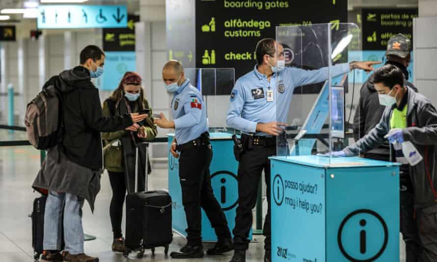 Covid-safe passenger check-in