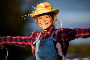 A young scarecrow