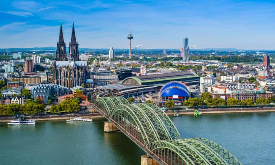 View of Cologne.