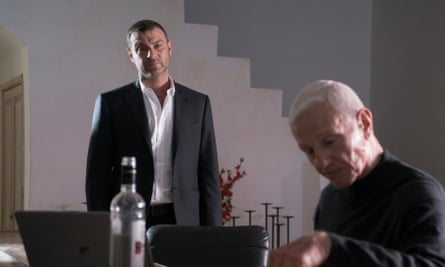 Liev Schreiber as Ray and Raymond J Barry as Dmitri in Ray Donovan.