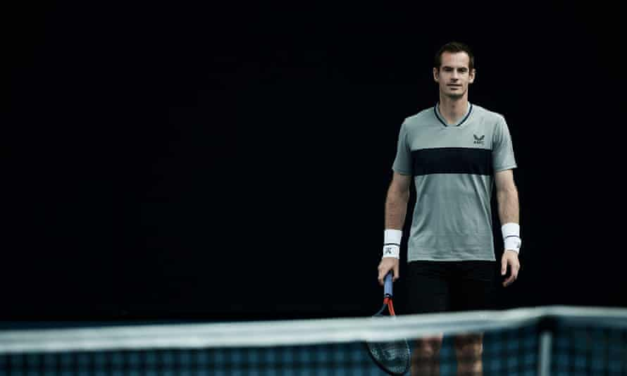 Andy Murray wears AMC, a premium tennis clothing brand, created and designed by Andy and Castore.