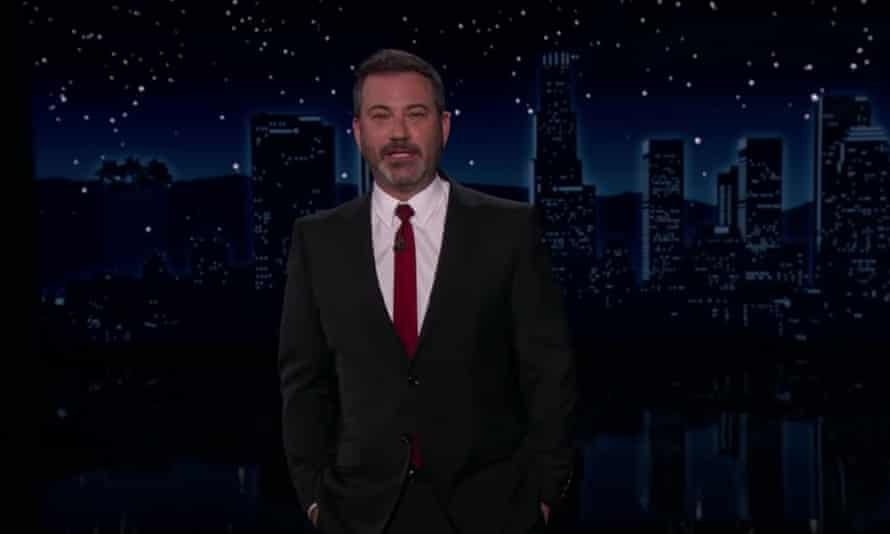 """Jimmy Kimmel on people skipping their second vaccine dose: """"It's like buying fruit on the bottom yogurt and only eating the yogurt part of it. It doesn't make sense. You have to get both shots."""""""