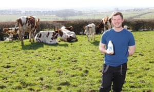 Bryce Cunningham, of Mossgiel Farm in Ayrshire, says customers are attracted by environmentally friendly packaging.
