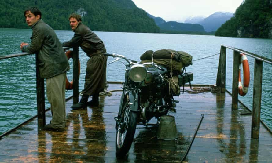 Norton in the film of the Che Guevara memoir, The Motorcycle Diaries.