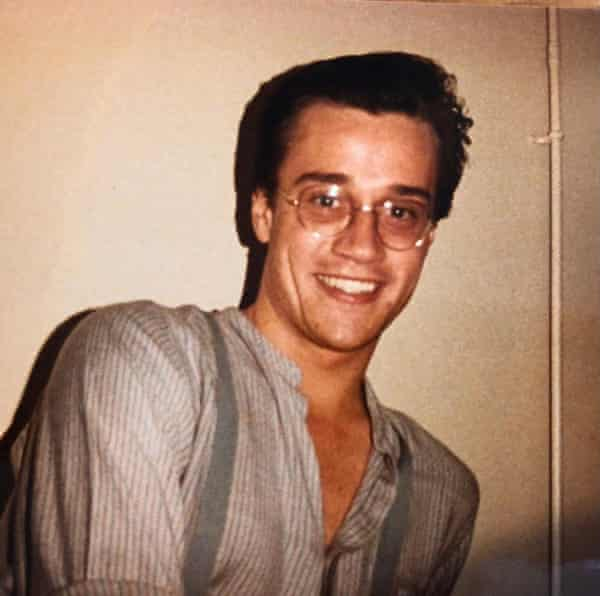 Russell T Davies, photographed in 1983.