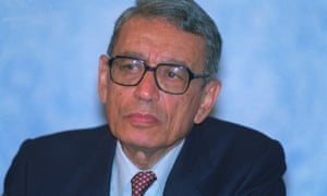 Boutros Boutros-Ghali in August 1992
