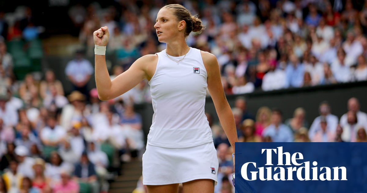 Karolina Pliskova edges past Aryna Sabalenka to reach Wimbledon final