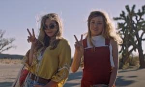 Haunting … Elizabeth Olsen and Aubrey Plaza in Ingrid Goes West