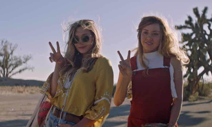 Elizabeth Olsen, left, and Aubrey Plaza in Ingrid Goes West.