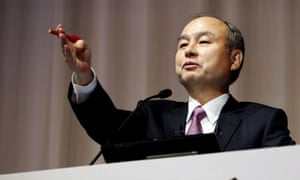 Masayoshi Son,  CEO of Softbank