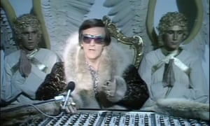 Alan Freeman as God in series 2 of The Young Ones.