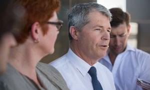 South Australian Liberal Senator David Fawcett