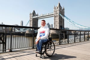 David Weir goes for an eighth London win.