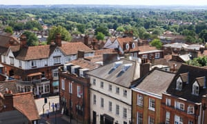 View of St Albans High Street