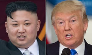 Donald Trump has issues a warning to North Korea that aggression will be met with 'fire and fury'.
