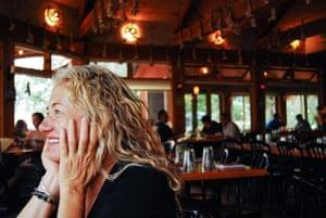 Blake Spalding at her restaurant, Hell's Backbone Grill.