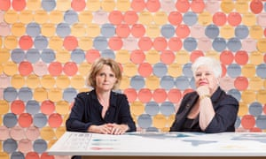Barbara Roche and Sophie Henderson, of the Migration Museum project