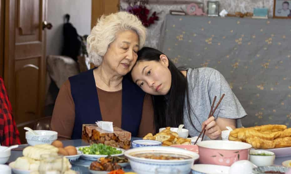 A clash of cultures: Zhao Shuzhen (left) and Awkwafina in The Farewell.
