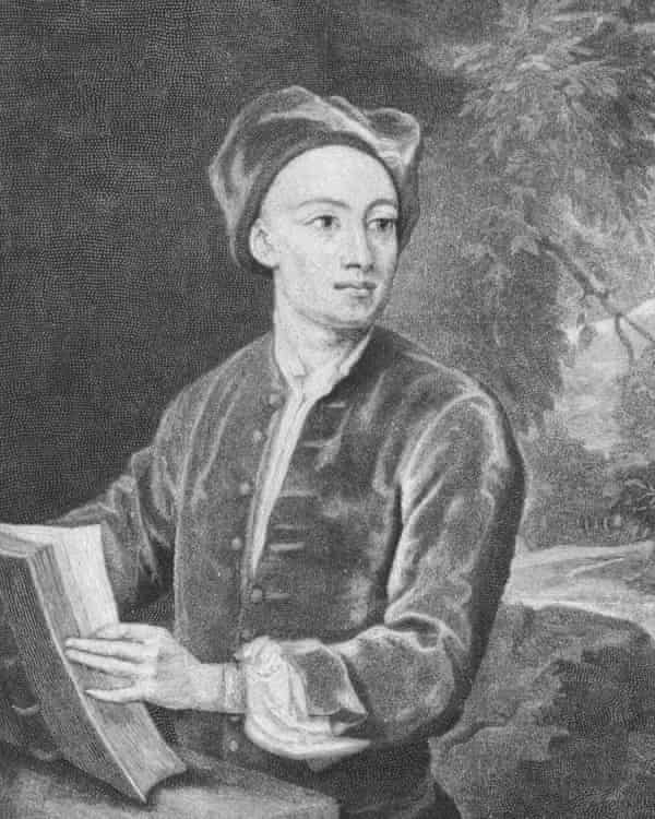 Portrait of Alexander Pope, circa 1720.