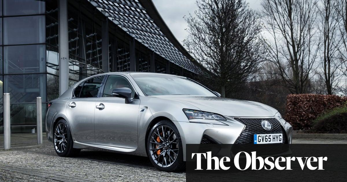 Lexus Gs F 50l V8 Car Review Martin Love Technology The Guardian