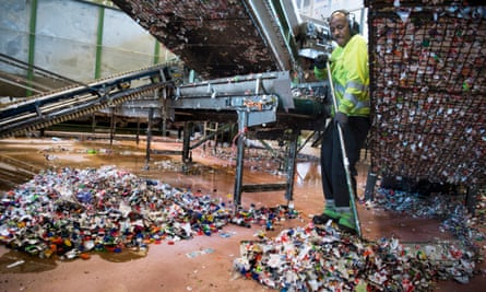 Infinitum recycling plant in Fetsund