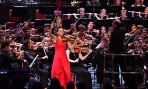 'To be able to get back to the Royal Albert Hall and to play live music feels like such a significant moment. I cannot wait.' Nicola Benedetti at the 2019 BBC Proms with the National Youth Orchestra of Great Britain