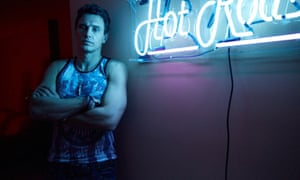 'I told him to say some corny porn things, and he started screaming, 'Give me that big dick!' Franco one-upped me' ... director Justin Kelly on working with James Franco in King Cobra.