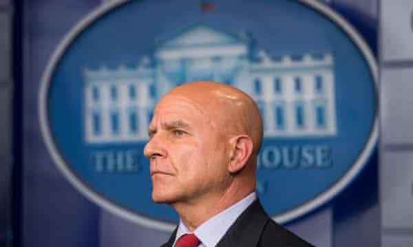 HR McMaster, the national security adviser, is a hardliner on North Korea.