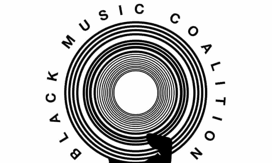 Logo for Black Music Coalition.
