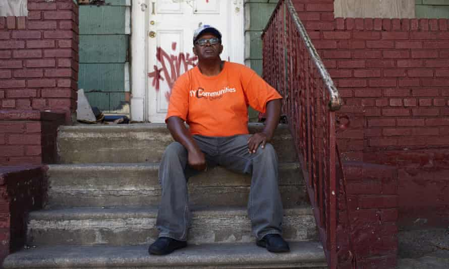 Vaughn Armour, a Crown Heights resident of 17 years.