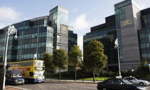 The Irish financial services centre in Dublin