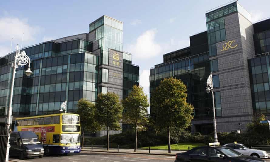 The Irish Financial Services centre in Dublin.