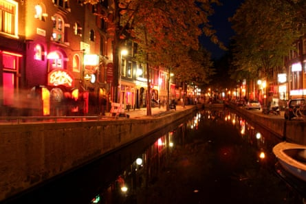 Red light district, Amsterdam.
