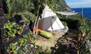 Canto das Fontes glamping site, Madeira