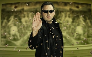 Adrian Lewis as Neo from The Matrix