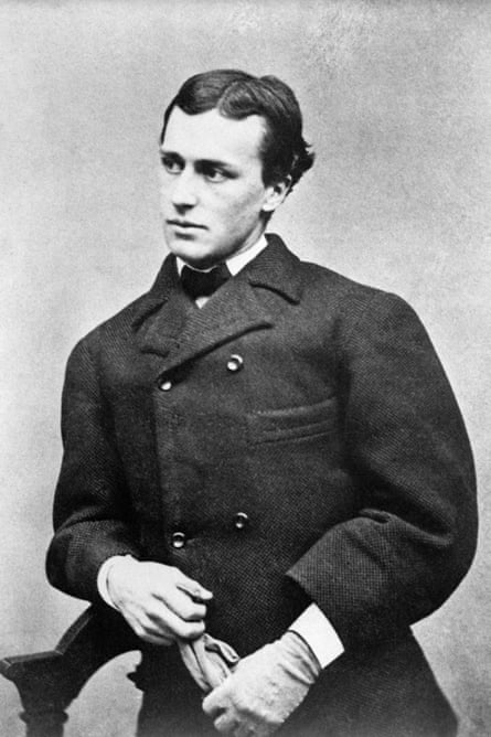 the young Henry James.