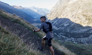 He'll be back ... Robbie Britton in the UTMB