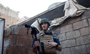 James Foley in Aleppo, Syria, just weeks before he was ambushed and kidnapped.