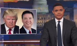 'Democracies don't go away in a flash. People need to get that into their minds' ... Trevor Noah.