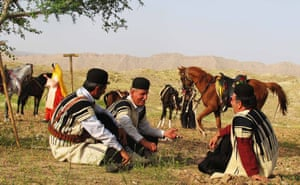 Horseriding with Nomads in Iran