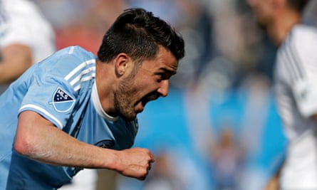 David Villa has led NYC FC's charge up the standings