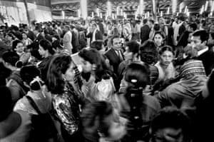 Society wedding, Dhaka international airport, Bangladesh, 1996