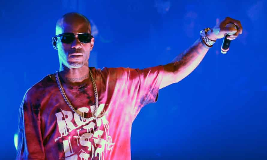 DMX, who has been arrested over tax evasion.