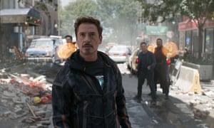 robert downey jr in avengers infinity war - The Avengers