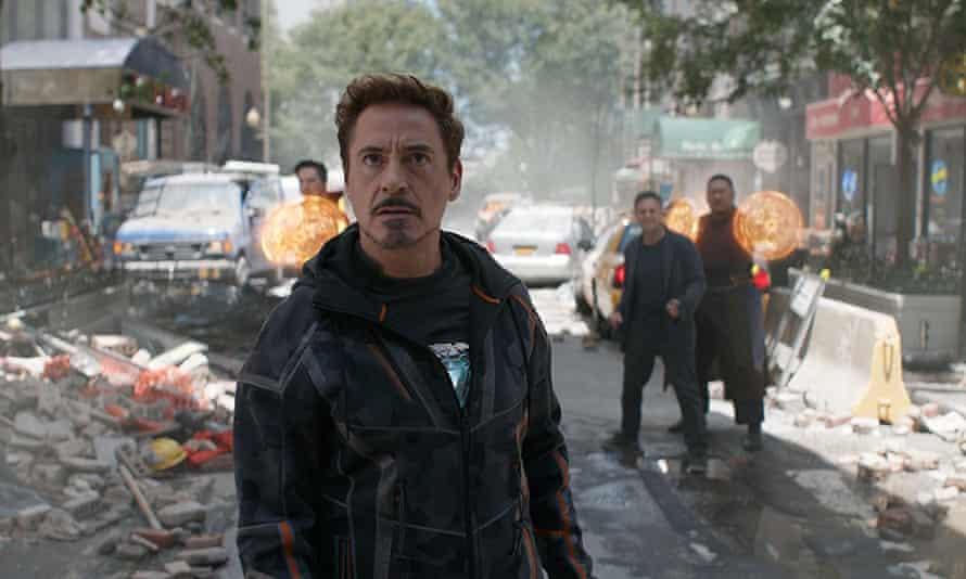 robert downey jr in avengers infinity war