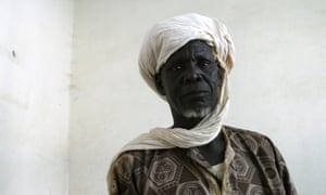 Djibo Adamu, the oldest man in Tongo Tongo.