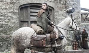 Maisie Williams as Arya Stark
