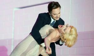 Alain Coulombe (Clark Gable), Laura Aikin (Marilyn Monroe)
