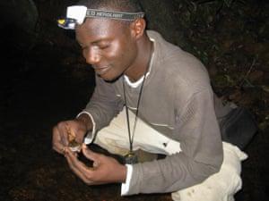 Caleb Ofori-Boateng from Ghana