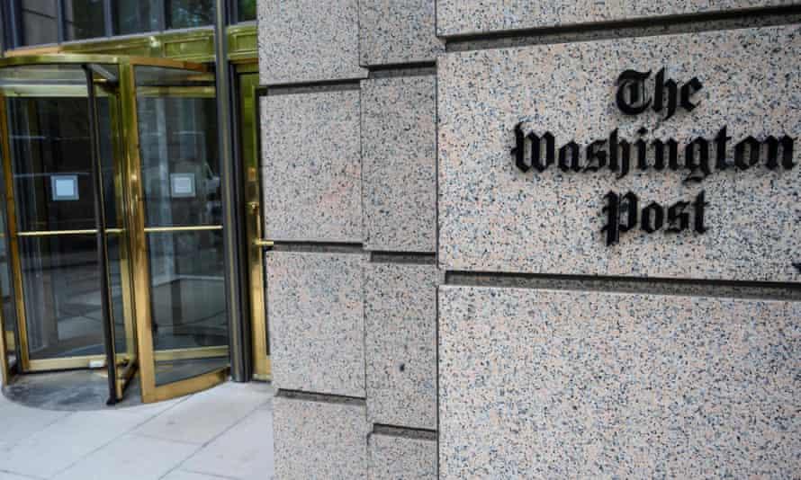 The Washington Post newspaper headquarters, K Street, Washington DC